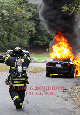 Melrose, MA - Auto Fire, Penney Road, 9-29-12