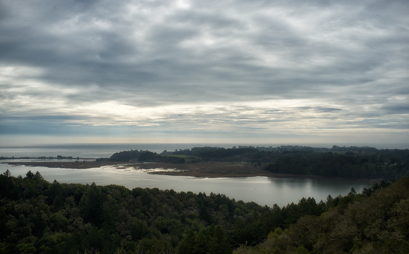 Bolinas lagoon; tonal contrast
