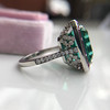 11.77ct Tourmaline Halo Ring by Leon Mege, AGL Cert 40