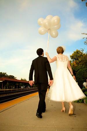 maggie + david's wedding