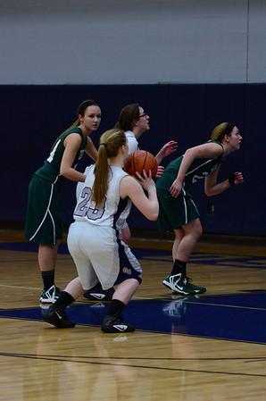 OE girls soph. basketball Vs Plainfield Central 2013