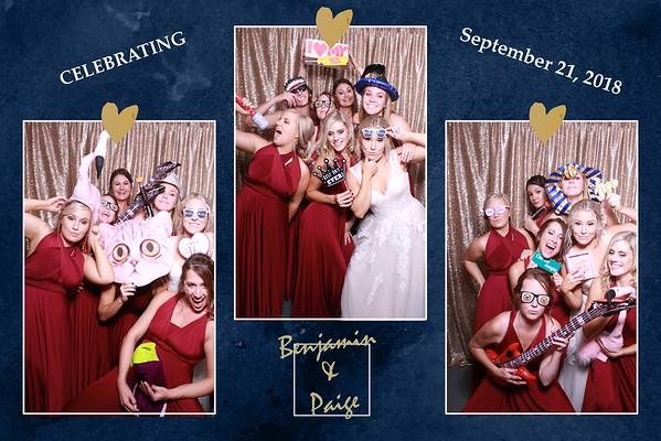 THE WEDDING OF BENJAMIN & PAIGE