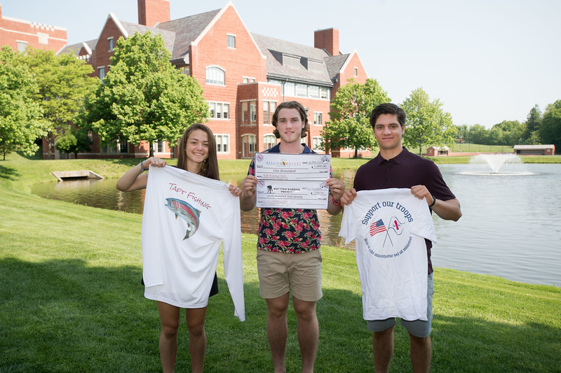 Student clubs donate to charities