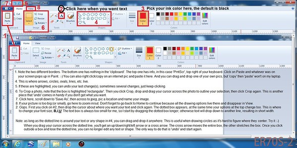 Windows Paint Basics