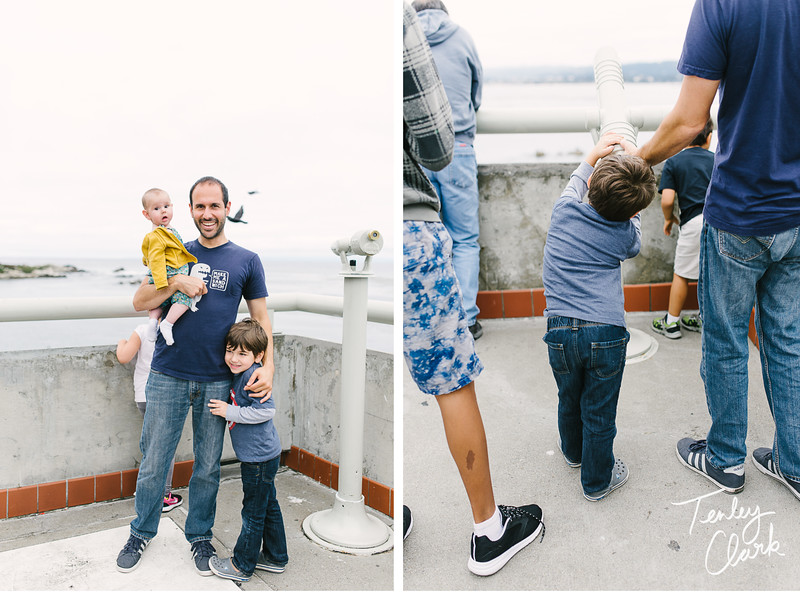 Family trip/vacation to Monterey, CA. (Tenley Clark Photography)