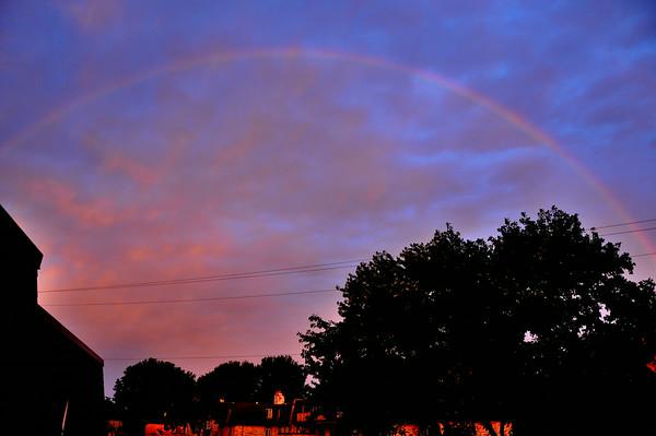 Rainbow at Sunrise 7.1.2014