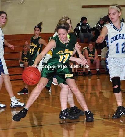 20110125 St. Mary's Jr. Varsity Girls Basketball