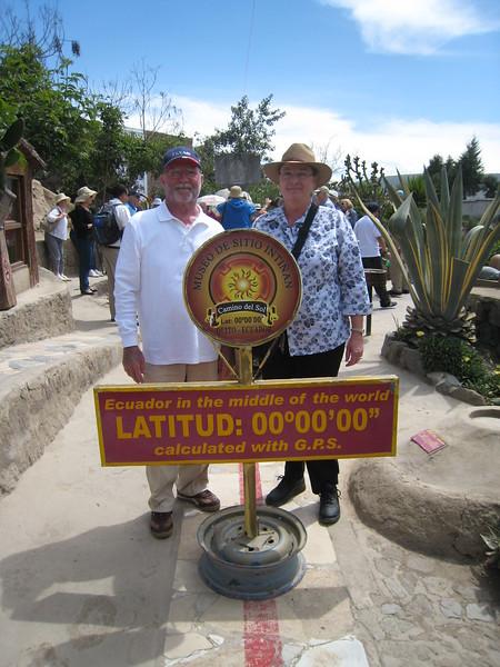 Middle of the World (Equator), Ecuador