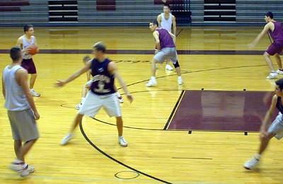 SNHS Boys Basketball 2001