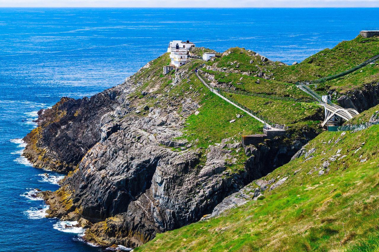 Mizen Head Irish Lights Signal Station and Visitor's Center at Ireland's most Southwesterly Point.