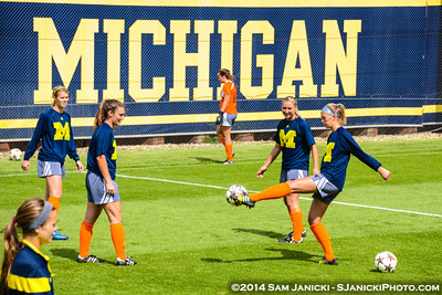 Best of UM Women's Soccer Vs Wisconsin 9-14-14