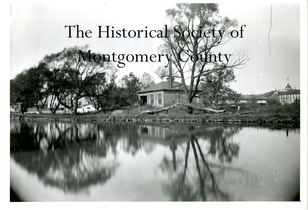 . This undated photo from the Historical Society of Montgomery County shows the Schuylkill Canal in Bridgeport.