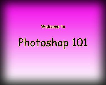 PHOTOSHOP 101