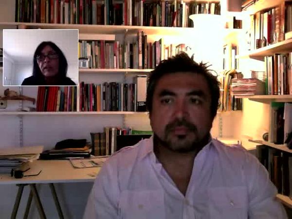 Rossana Reguillo interviews Cristian Alarcón
