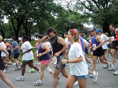 Tanya's first run