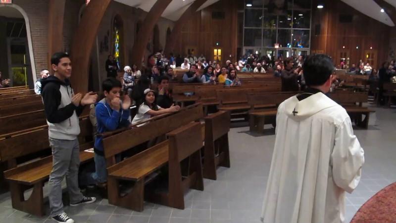 Video 8 St. Margaret of Scotland Morristown NJ April 10 2014