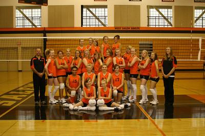 West Salem VB09 Team Photos