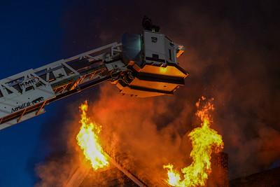 3 Alarm Structure Fire - Spring St, Winchendon, Ma - 3/8/21