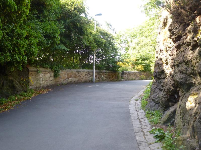 Climbing Up To Calton Hill