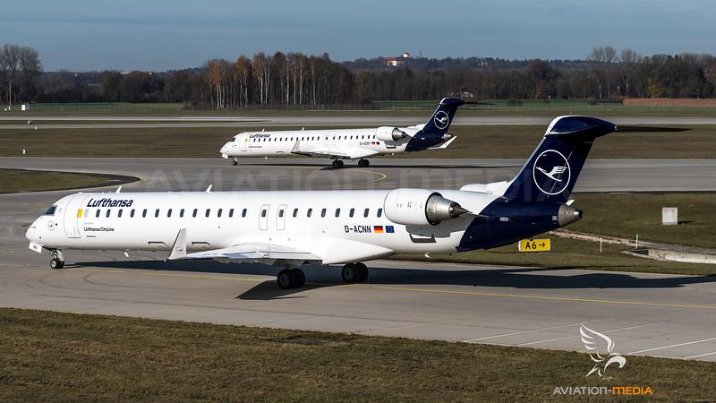 Lufthansa Cityline / Canadair CRJ900 / D-ACNN & DACNT