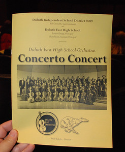 2013 05 21: Duluth East Concerto Concert, Federica+