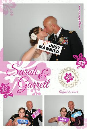 Sarah & Garrett's Wedding (Luxury Photo Pod)
