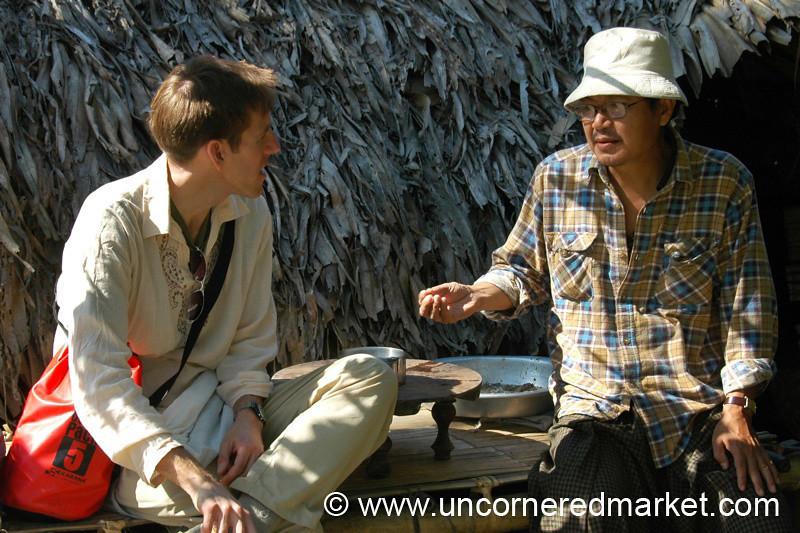 Friendly Discussion - Toungoo, Burma