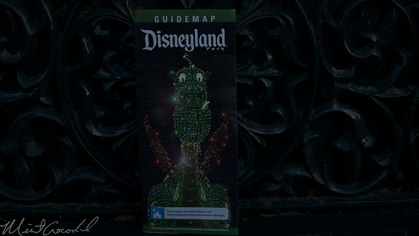 Disneyland Resort, Disneyland, Guide Map, Main Street Electrical Parade