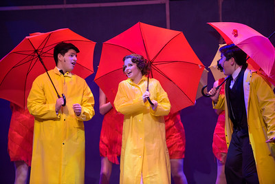 Poway Titan Theatre - Singin' in the Rain dress rehearsal 1-30-2019