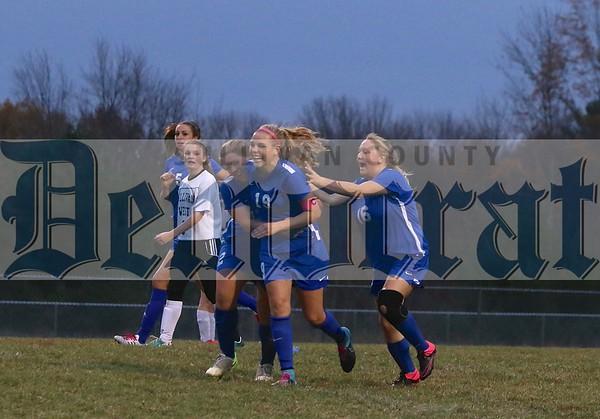 Sullivan West vs. Monticello Girls