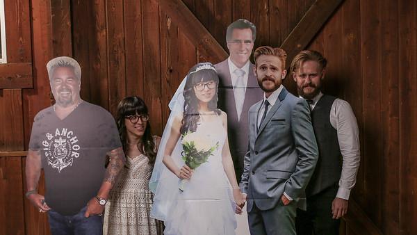 Leah + DJ. Marriage Happened