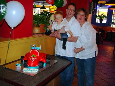 BIRTHDAY/CALVIN 1YR/JAN.2003