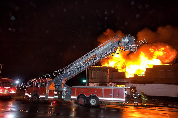 Detroit Second Alarm Commercial Bldg. 12066 Dexter