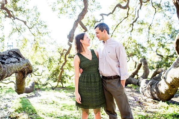 Jenny and Adam Treaty Oak Engagement