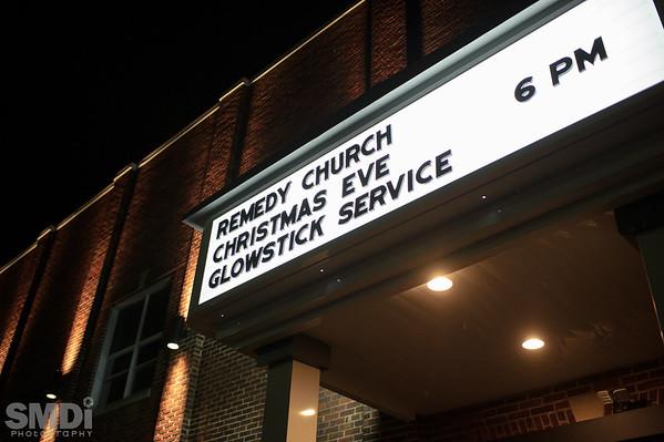 2014 Glow Stick Christmas Eve Service