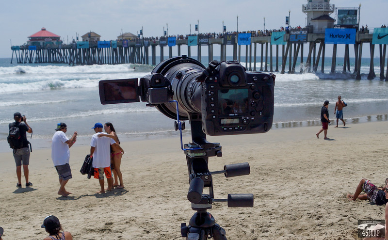 Nikon D4 rig with Video Camera for Shooting Stills & Video @ Same Time!