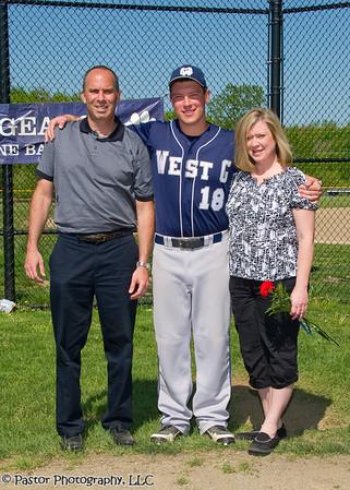 Baseball Senior Recognition Game