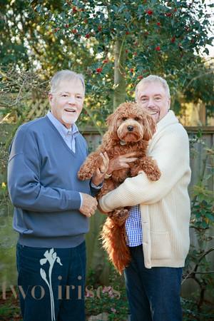 Bob & David with Scudder