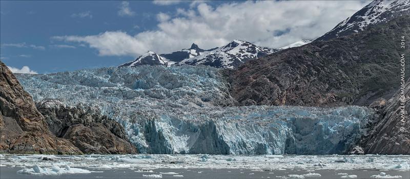Sawyer Glacier at Tracy Arm