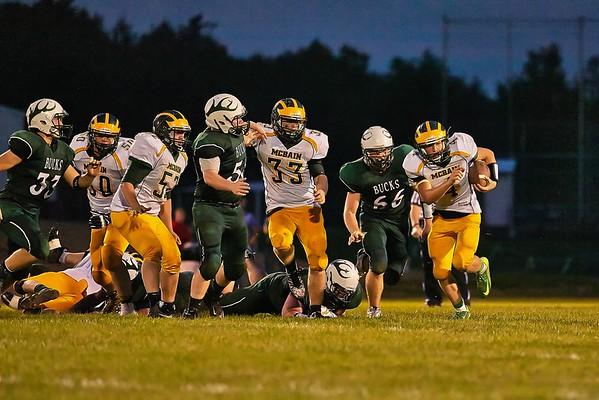 McBain Varsity Football 9-18-15