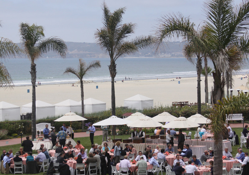 Beachside lunch on the Windsor Lawn