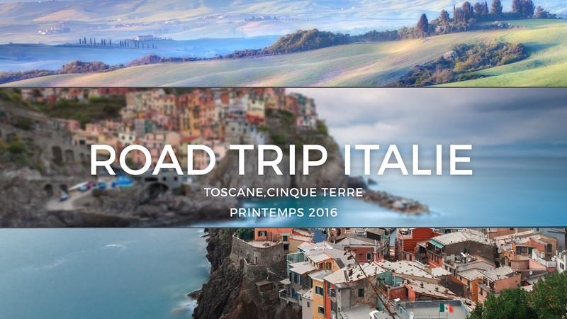 "Teaser ""Road Trip Italie"""