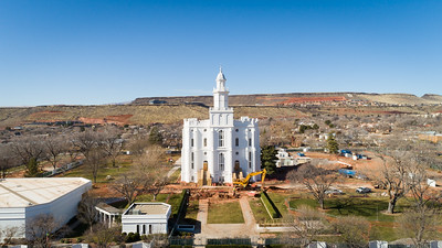 St. George Temple Renovation 1/25/2020