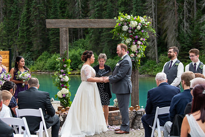 Emerald Lake Wedding - Melissa & Kevin