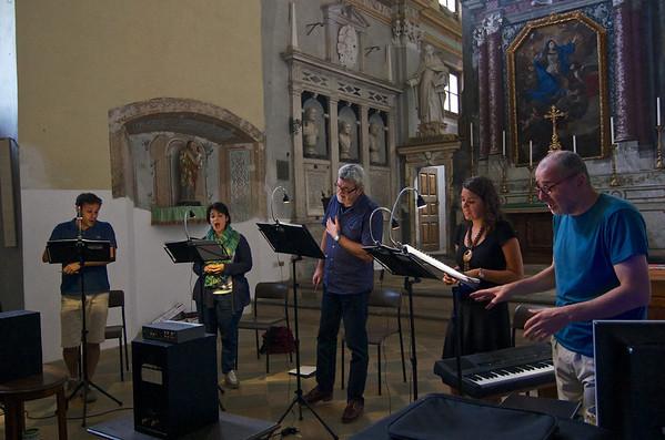 La Compagnia del Madrigale - Gesualdo da Venosa recording sessions