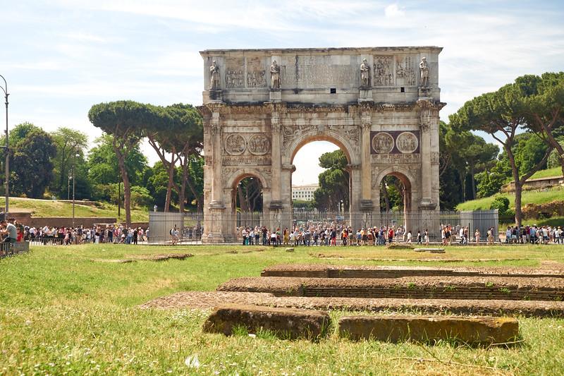 Arco di Constantino, Rome, Italie