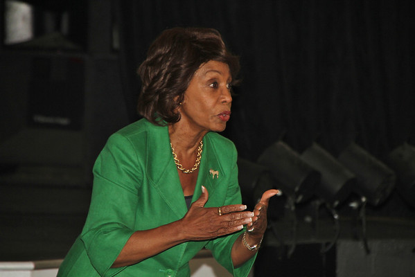 Congresswoman Maxine Waters Meeting