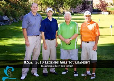 2021 - C3 - Chad Lewis, Aaron Brown, Dick Harmon, Kim Nelson