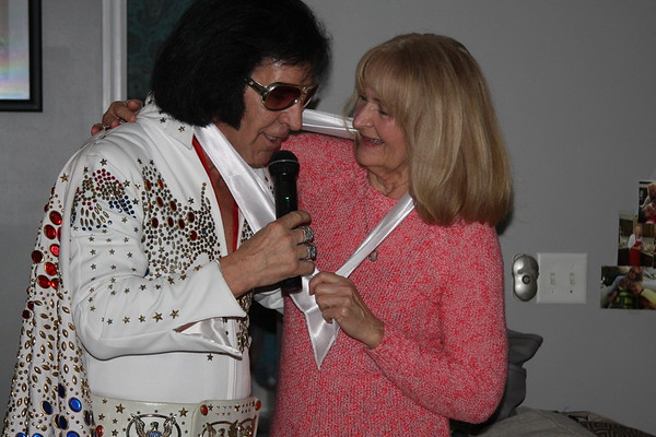 Chris's Birthday with Elvis