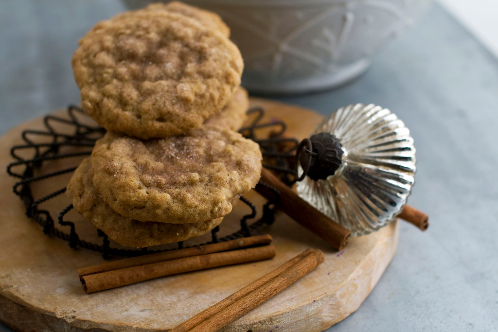 ". <a href=""http://www.heraldextra.com/momclick/recipes/a-chewy-oat-cookie-spiked-with-honey-and-cinnamon/article_e20b4d13-afb6-5cb8-80e6-951d49f012f6.html\"">Get the recipe for cinnamon honey oat drops</a>. (AP Photo/Matthew Mead)"